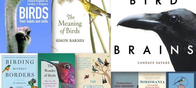 10 cărți în limba engleză despre păsări și birdwatching